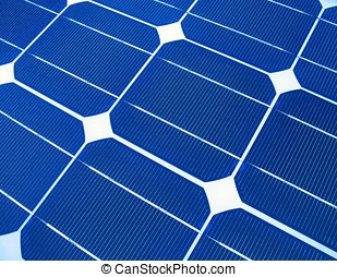 Solar Panels Macro - -- a useful image for alternative...
