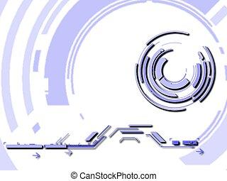 Retro illustration - retro design