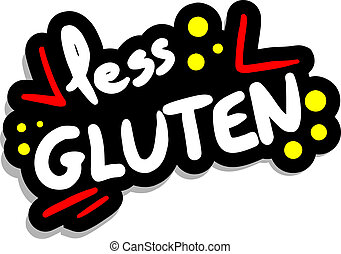 Less gluten - Creative design of less gluten