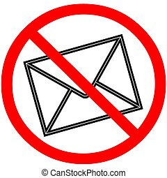 Email warning signal spam.