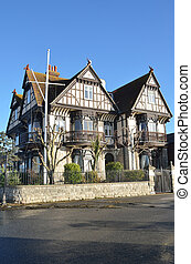 Gothic style old house