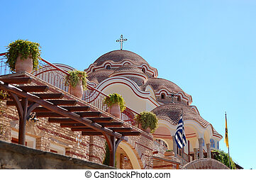 The Monastery of Archangel Michael with a part of Holy Nail...