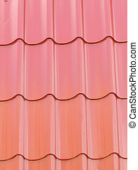 Roofing material - red roofing material