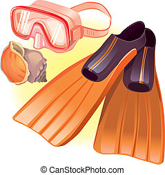 Accessories for diving