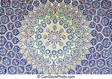 árabe, alfombra
