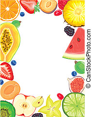 Fruit and Berries frame