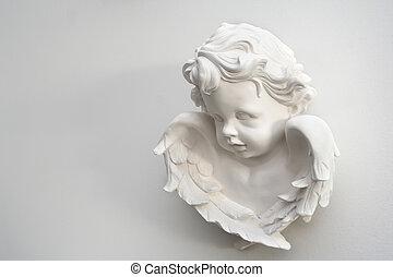 fehér, angyal