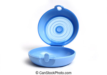 tupperware on a white background