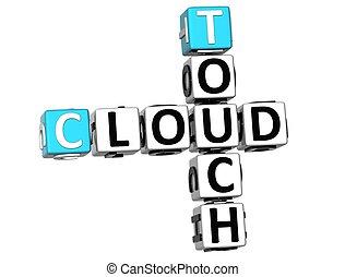 3D Touch Cloud Crossword