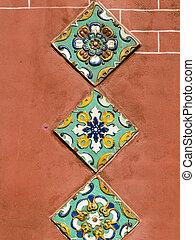 Yaroslavl ceramic - Traditional outside wall tile decoration...