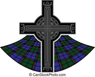 scottish celtic cross