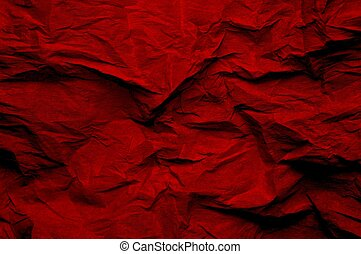 wrinkled background burgundy - Burgundy-red, wrinkled piece...