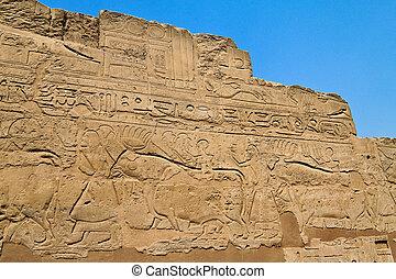 egypt, luxor, temple of luxor amun - africa, egypt, luxor,...