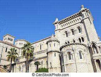 Building in Monte Carlo, Monaco