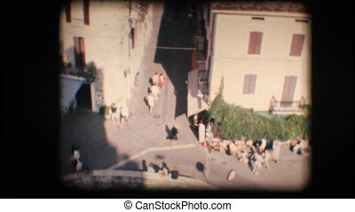 Vintage 8mm Town of Sirmione - Vintage 8mm Original footage...