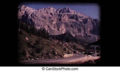 Vintage 8mm. Dolomite mountains - Vintage 8mm. Original...