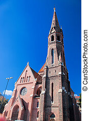 Buda Reformed Church. Budapest, Hungary - Buda Reformed...
