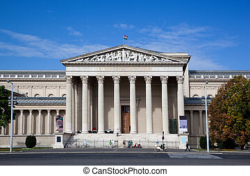 Museum of Fine Arts. Budapest, Hungary - Museum of Fine Arts...