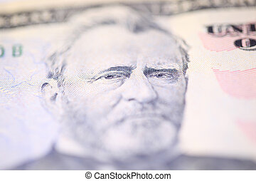 Benjamin Franklin on one hundred dollars bill