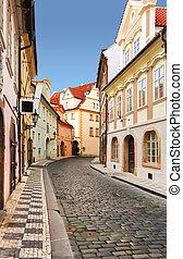 ceco, Praga, repubblica, strada