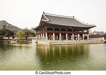 a, Gyeonghoeru, Pavilhão