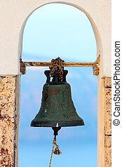 Bell of a greek church