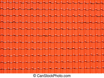 background made of roofing tiles - abstract background made...