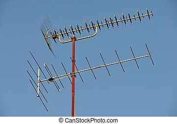 antenna of a house