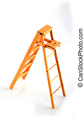 stepladder as a tool for housekeeping or painting
