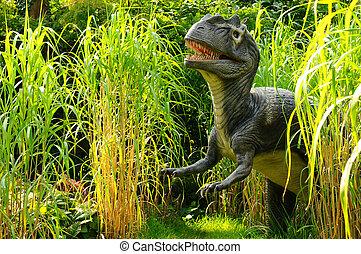 Allosaurus - An animated model of an Allosaurus dinosaur...