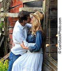 par, beijo