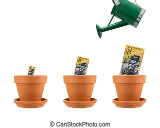 Financial Growth - A conceptual financial growth image...