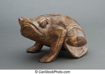 Figurine of a frog from the tree