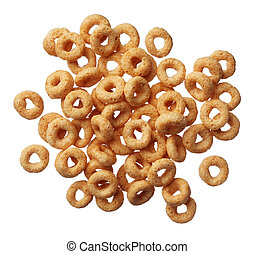 cereal isolated on white background