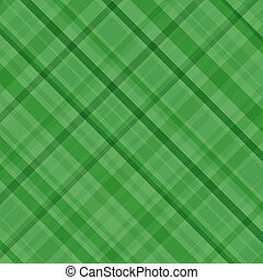 Green plaid - An illustration of a green plaid pattern