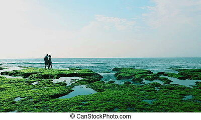 Beautiful environment - Couple in beautiful natural...
