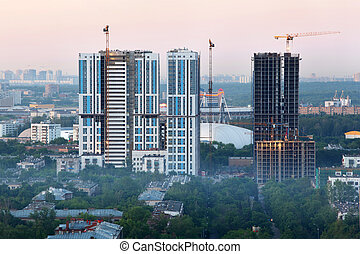 MOSCOW - JUNE 1: Bogorodsky residential complex under...