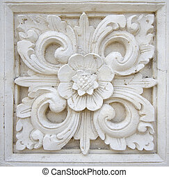 Bali stone carving - Traditional Balinese stone carving