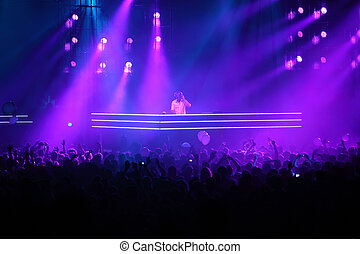 MOSCOW - MAY 7: DJ Armin van Buren at show ARMIN ONLY:...