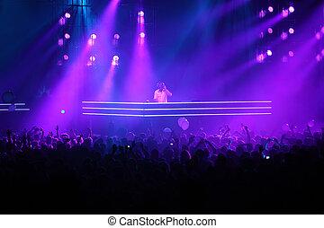MOSCOW - MAY 7: DJ Armin van Buren at show ARMIN ONLY:...