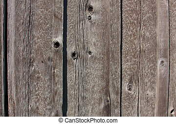Wood Grain Wall Pattern - Close up of a wood grain pattern...