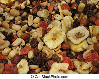 bulk nuts and dry fruit
