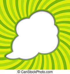 Clouds background with sun rays vector illustration