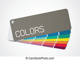 Color chart 2 Vector - Illustration of color chart