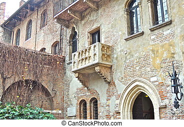 Wherefore art thou Romeo - Balcony where Juliet was...