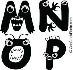 Font Type Monster