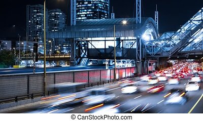 Traffic Time Lapse - Freeway Traffic Time Lapse