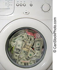 Money laundering concept