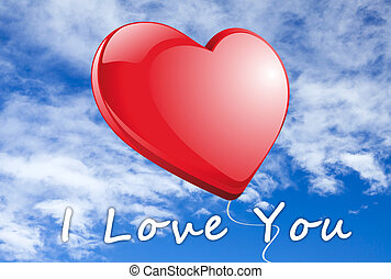 I Love you red Heart