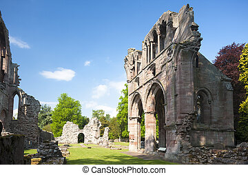 ruins of Dryburgh Abbey, Scottish Borders, Scotland
